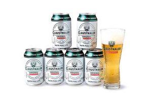 Pack 6 Cervezas CLAUSTHALER Original sin Alcohol 330cc + Vaso en Tienda Inglesa