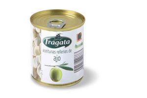 Aceitunas Verdes Rellenas Con Ajo en Lata FRAGATA 200 gr en Tienda Inglesa