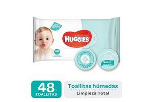 Toallitas Húmedas HUGGIES One & Done 48 Unidades en Tienda Inglesa