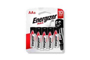 Pila ENERGIZER Alcalina AA x 8 Unidades en Tienda Inglesa