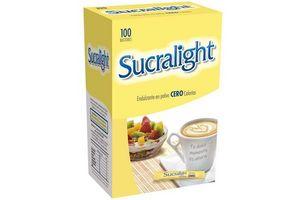 Edulcorante SUCRALIGHT 100 Sobres en Tienda Inglesa