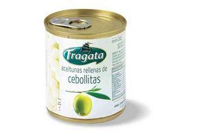 Aceitunas Verdes FRAGATA Rellenas con Cebolla 200g en Tienda Inglesa
