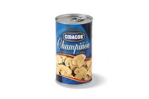 Champignones CIDACOS Laminados 355g en Tienda Inglesa