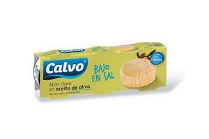 Pack x 3 Atún Claro CALVO al Natural Bajo en Sal en Tienda Inglesa