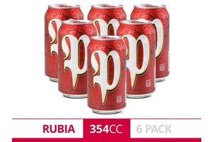 Pack 6 Cervezas PATRICIA Lata 354ml en Tienda Inglesa
