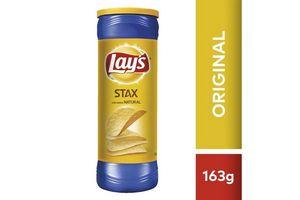 Papas Fritas LAYS STAX  sabor Original 163g en Tienda Inglesa