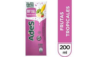 Jugo ADES sabor Frutas Tropicales 200 ml en Tienda Inglesa