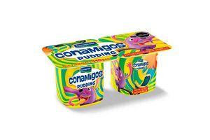 Pack 2 Postre Pudding CONAPROLE Conamigos sabor Vainilla 110g en Tienda Inglesa