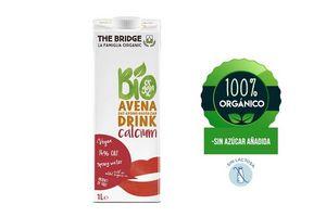 Bebida THE BRIDGE Bio Drink de Avena + Calcio 1l en Tienda Inglesa