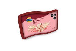 Helado Marmolado de Vainilla con Pulpa de Frutilla CONAPROLE Pote 2l en Tienda Inglesa