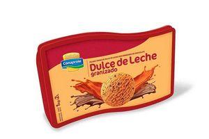 Helado sabor Dulce de Leche Granizado CONAPROLE Pote 2l en Tienda Inglesa