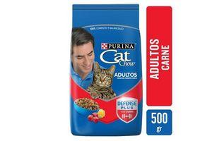 CAT CHOW  Adultos Delicias Sabor Carne 500g en Tienda Inglesa