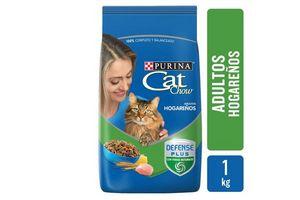 CAT CHOW Adultos Hogareños sabor Delicias de Ave 1Kg en Tienda Inglesa