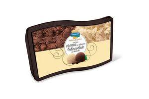Helado Sinfonía de Sabores de Crema y Chocolate tipo Holandés CONAPROLE Pote 2 L en Tienda Inglesa