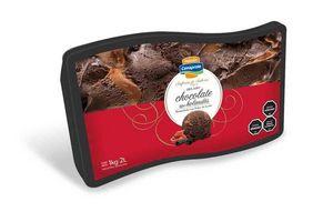 Helado Sinfonía de Sabores de Chocolate tipo Holandes Marmolado con Dulce de Leche Pote CONAPROLE 2 L en Tienda Inglesa