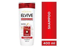Shampoo Elvive L'ORÉAL Reparación Total 400ml en Tienda Inglesa