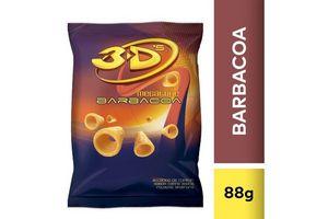Conitos 3D's Megatube sabor Barbacoa 88g en Tienda Inglesa