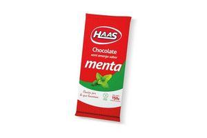Chocolate Semiamargo Sabor Menta HAAS 150 gr en Tienda Inglesa