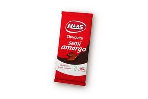 Chocolate Semi Amargo HAAS 150 gr en Tienda Inglesa