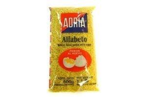 Fideos  ADRIA para Sopa Alfabeto 500gr en Tienda Inglesa