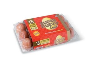 Huevo Color Gold SUPER HUEVO x 15 en Tienda Inglesa