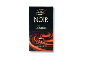 Chocolate Amargo HAAS Noir Premium 70% de Cacao 100g en Tienda Inglesa