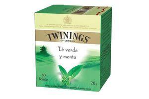 Té TWININGS  Verde con Menta 10 Sobres en Tienda Inglesa