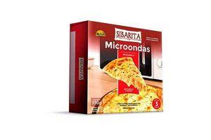 Pizza a la Piedra con Muzzarella y Tomate para Microondas Lista en 3 minutos SIBARITA x 2 Unidades 370g ¡Con Disco de Cocción para Mayor Crocancia de la Masa! en Tienda Inglesa
