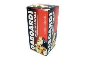 Palillos para Dientes GABOARDI caja x200u en Tienda Inglesa
