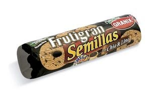 Galletas Frutigran Semillas de Chia y Lino GRANIX 240 gr en Tienda Inglesa