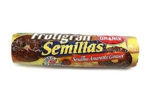 Galletas Dulces con Semillas de Sésamo, Amarato y Girasol FRUTIGRAN 260g en Tienda Inglesa