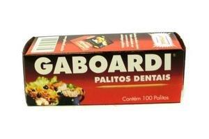 Palillos para Dientes GABOARDI caja x100u en Tienda Inglesa