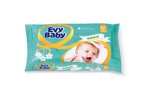 Toallitas Húmedas para Bebe EVY BABY Soft & Fresh x 60 Unidades en Tienda Inglesa