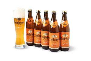 Pack de 5 Cervezas Schofferhofer en Botellas de 500ml + Vaso ¡De Regalo! en Tienda Inglesa