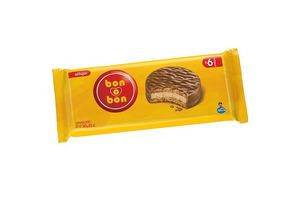 Alfajor de Chocolate BON O BON Pack de 6 Unidades en Tienda Inglesa