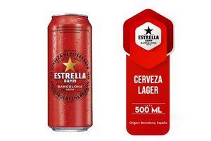 Cerveza ESTRELLA Damm Lata 500ml en Tienda Inglesa