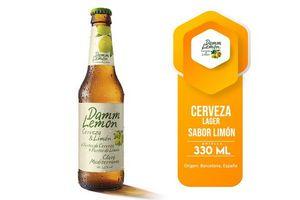 Cerveza DAMM Lemon Botella 330 ml en Tienda Inglesa