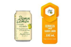 Cerveza DAMM Lemon Lata 330ml en Tienda Inglesa