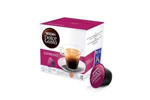 Café en Cápsula Espresso NESCAFE Dolce Gusto x16 en Tienda Inglesa