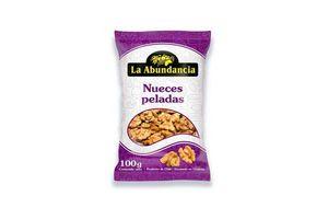 Nueces Peladas LA ABUNDANCIA 100 gr en Tienda Inglesa