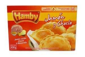 Empanadas Supercongeladas de Jamón y Choclo HAMBY x 6 Unidades 420g ¡No Necesitan Descansar, al Horno y Listo! en Tienda Inglesa