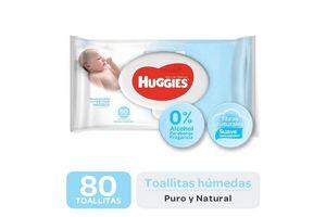 Toallitas Húmedas HUGGIES Recién Nacido x 80 Unidades en Tienda Inglesa
