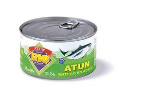 Atún Entero en Aceite Vegetal RÍO DE LA PLATA 354 gr en Tienda Inglesa