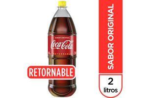 Refresco COCA COLA Retornable 2 L en Tienda Inglesa