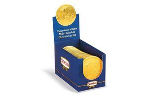 Chocolate Moneda de 1 Euro 25g en Tienda Inglesa
