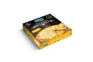 Pizza a la Piedra con Muzzarella CONAPROLE para Horno o Parrilla x3 600g ¡Pronta para Calentar y Servir! en Tienda Inglesa