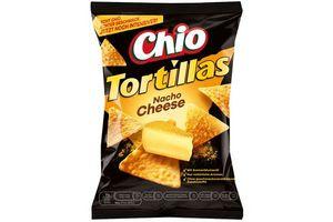 Tortilla Chips CHIO Nacho Cheese 125g en Tienda Inglesa