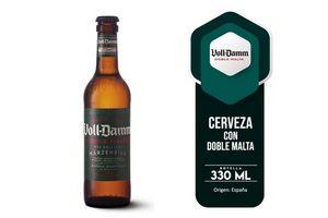 Cerveza VOLL-DAMM Doble Malta Botella 330 ml en Tienda Inglesa