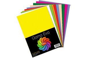 Goma Eva A4 - 10 colores en Tienda Inglesa