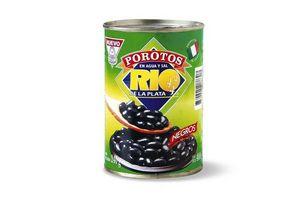 Porotos RIO DE LA PLATA Negros en Lata 400 Gr en Tienda Inglesa